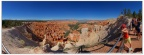 Pano-Inspration Point-Bryce Canyon Park-Utah