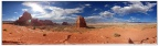 Pano-Towers Viewpoint-Arches Park-Utah