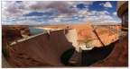 Pano-Glen Canyon Dam-Page-Arizona